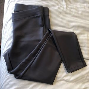 NWT Express Black Faux Leather Leggings
